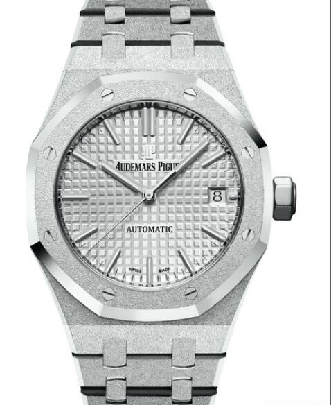 Replica watch Audemars Piguet Royal Oak Frosted Gold 15454BC.GG.1259BC.01 White Gold