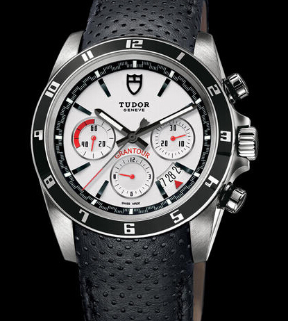 Replica Tudor GRANTOUR CHRONO 20530N white watch