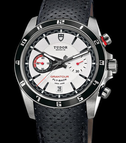 Replica Tudor GRANTOUR CHRONO FLY-BACK 20550N white watch