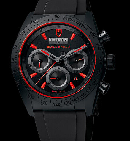 Replica Tudor FASTRIDER BLACK SHIELD 4200CR watch