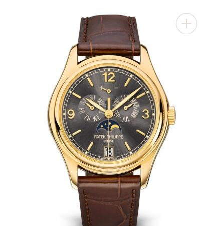 Cheapest Patek Philippe Watch Price Replica Complications Moon Phase Gray Dial Watch 5146J-010