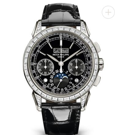 Cheapest Patek Philippe Watch Price Replica Grand Complications Black Dial Chronograph 5271P-001