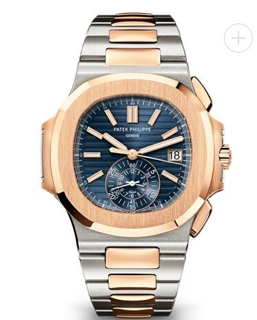 Patek Philippe Nautilus Watches Cheap Prices for Sale Replica Nautilus Chronograph Date Two-Tone 5980/1AR-001