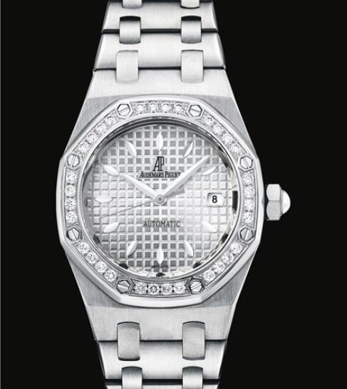 Replica Audemars Piguet Watch Lady Royal Oak 77321ST.ZZ.1230ST.01 Steel - Diamonds