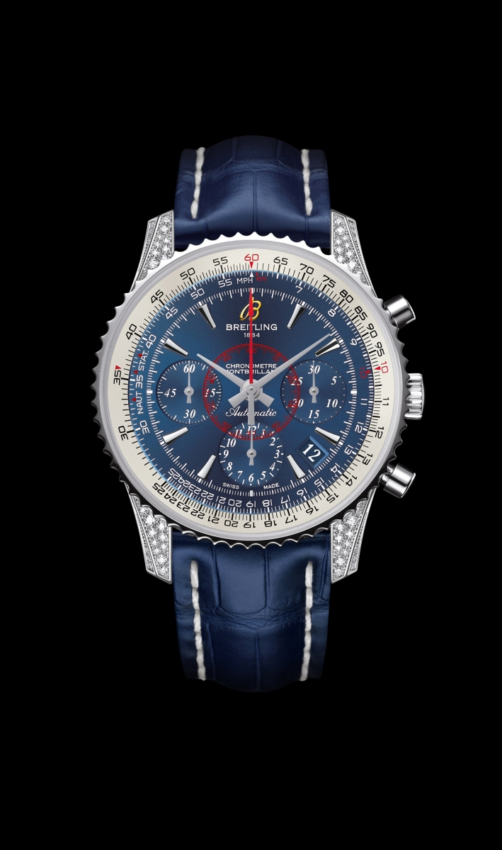 Replica Breitling Watch MONTBRILLANT 01 DIAMONDWORK Collection AB013067/C894/718P/A18BA.1 40mm