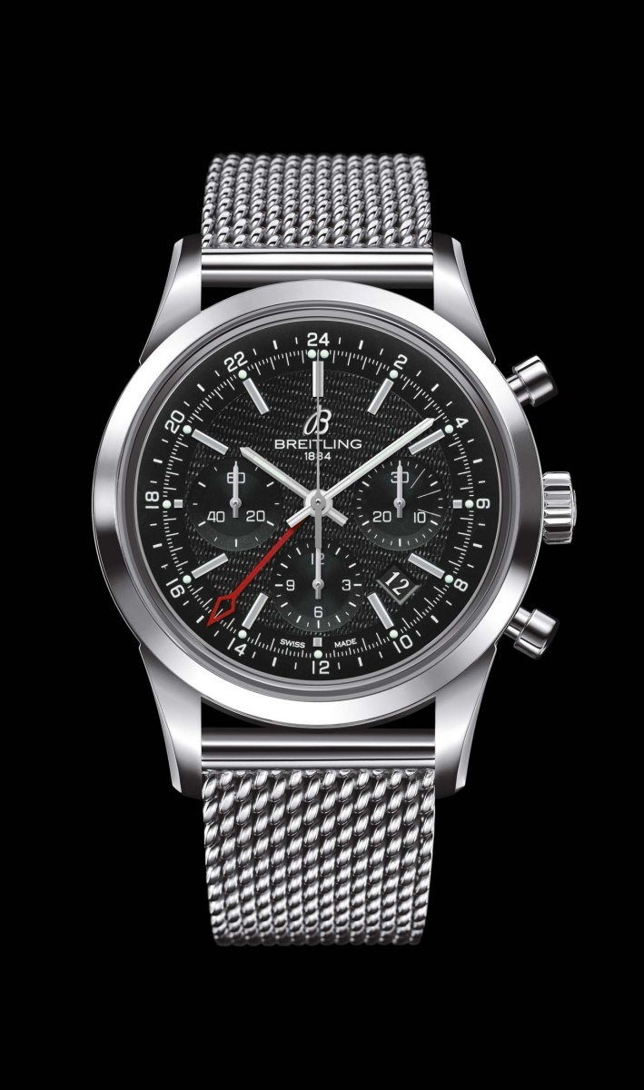 Replica Breitling Watch TRANSOCEAN CHRONOGRAPH GMT Collection AB045112/BC67/154A 43mm