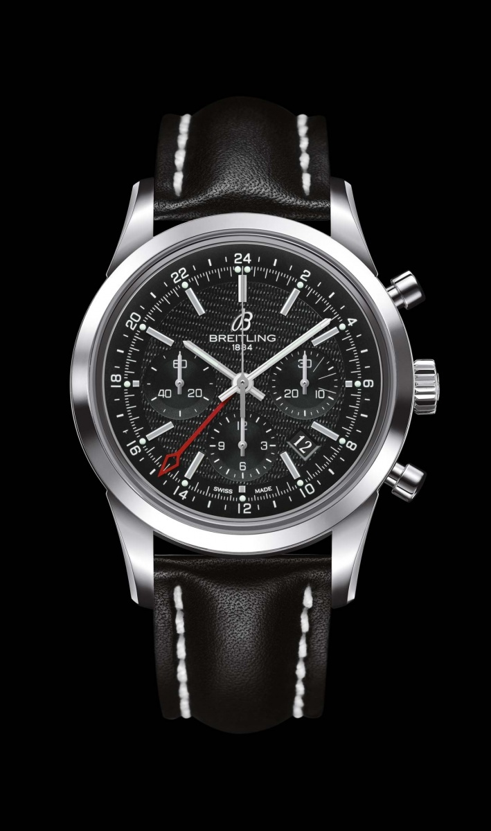 Replica Breitling Watch TRANSOCEAN CHRONOGRAPH GMT Collection AB045112/BC67/435X/A20BA.1 43mm