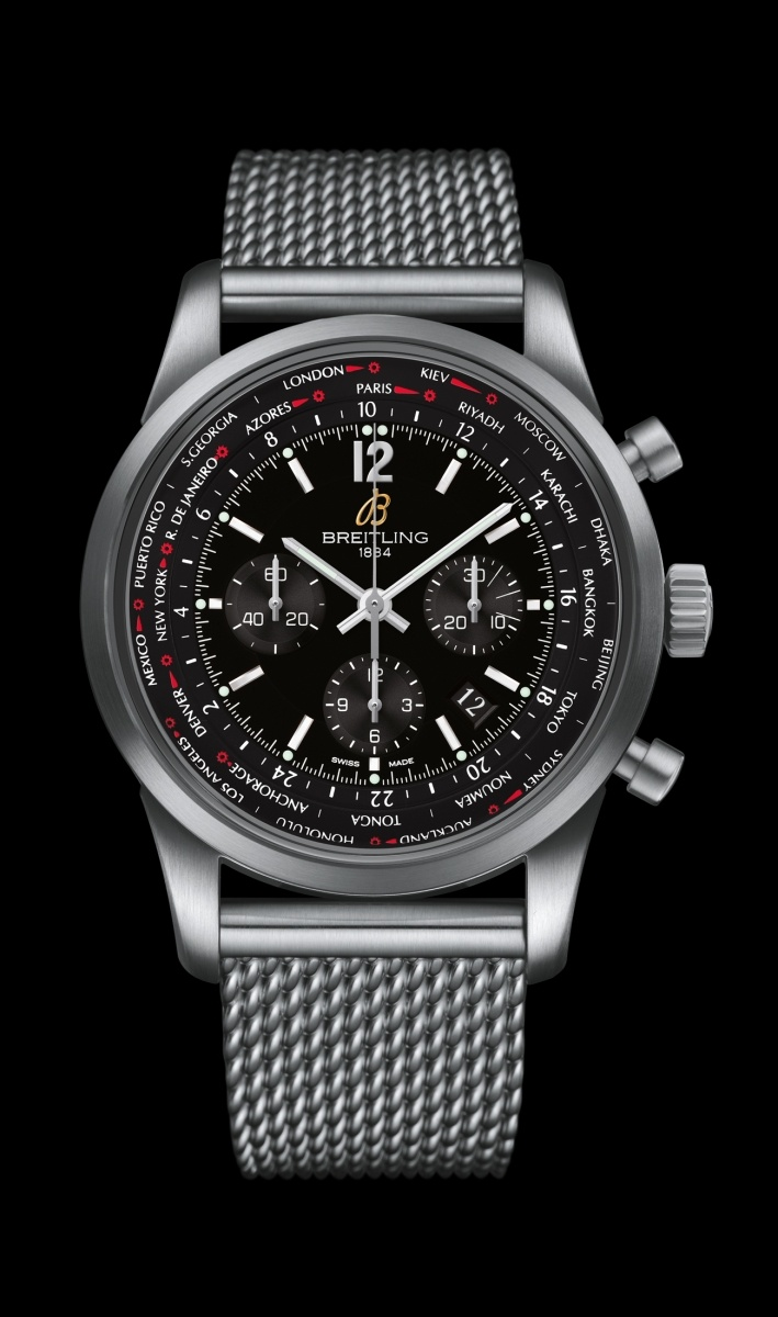 Replica Breitling Watch TRANSOCEAN UNITIME PILOT Collection AB0510U6/BC26/159A 46mm