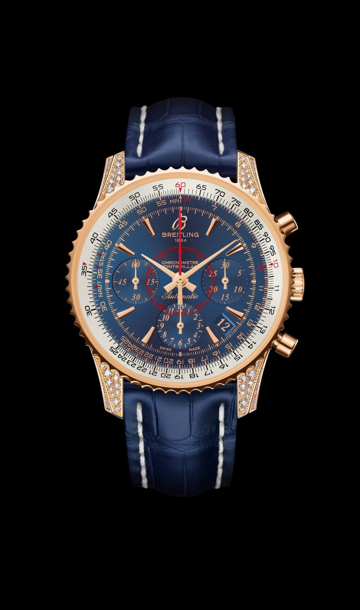 Replica Breitling Watch MONTBRILLANT 01 DIAMONDWORK Collection RB013067/C896/718P/R18BA.1 40mm