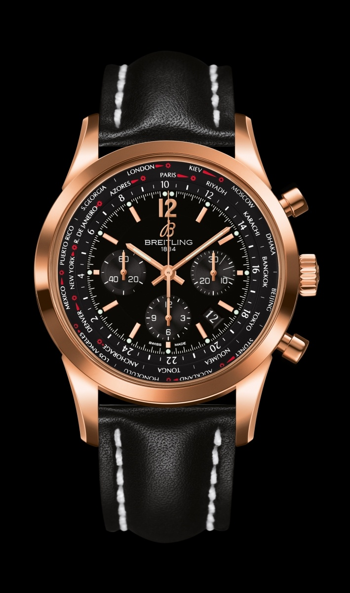 Replica Breitling Watch TRANSOCEAN UNITIME PILOT Collection RB0510U5/BC39/441X/R20BA.1 46mm