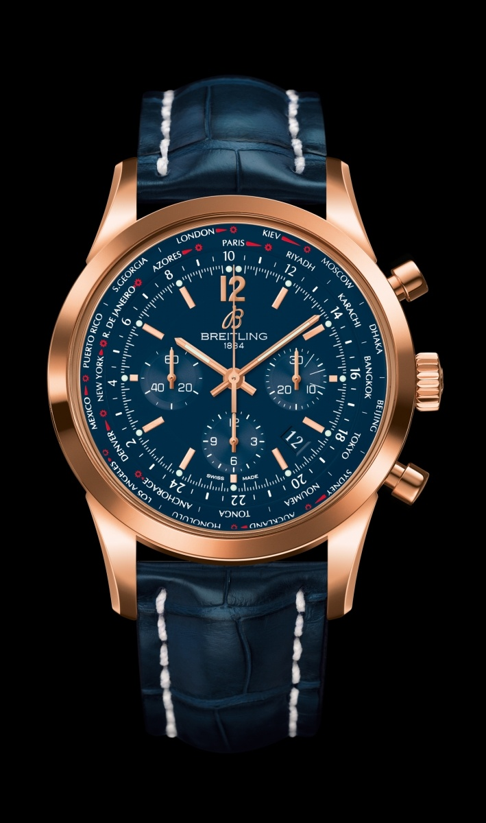 Replica Breitling Watch TRANSOCEAN UNITIME PILOT Collection RB0510V1/C880/746P/R20BA.1 46mm