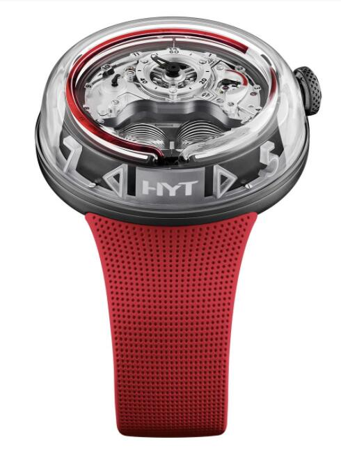 HYT H5 Red Fluid H02248 Replica Watch