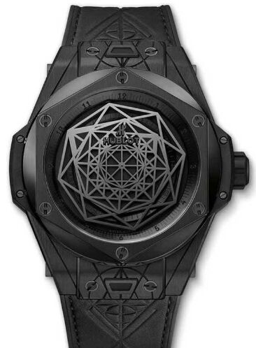 Hublot 415.CX.1114.VR.MXM17 Big Bang Sang Bleu All Black Replica watch