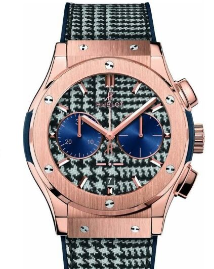 Replica Hublot 521.OX.2704.NR.ITI17 Classic Fusion Chronograph Italia Independent Prince de Galles watch