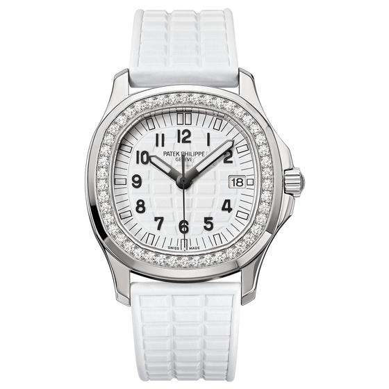 Replica Patek Philippe LADIES AQUANAUT LUCE GLITTER WHITE 2016 REF. 5067 Watch Buy 5067A-024 - Stainless steel