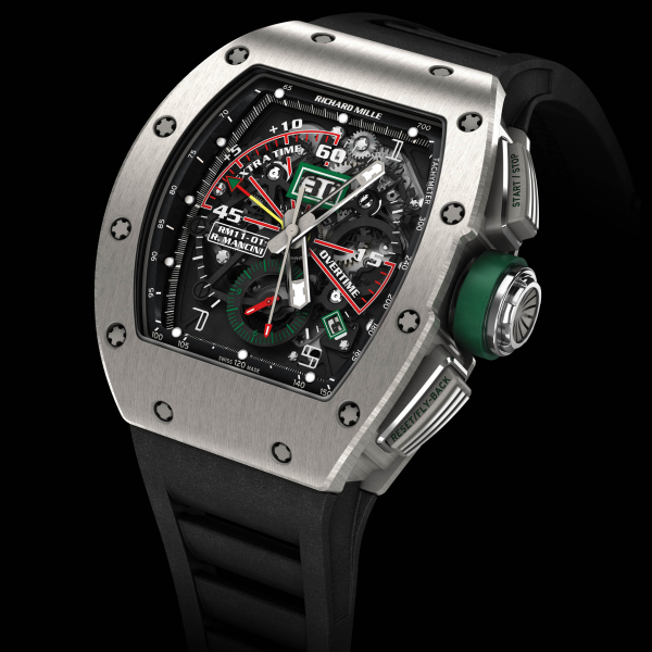 RICHARD MILLE RM 011 RM11-01 Ti Roberto Mancini 549.45.91-1 Replica Watch
