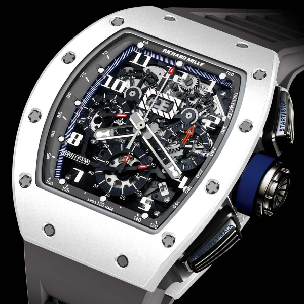 RICHARD MILLE RM 011 WG Polo de St Tropez 511.06AN.91V-1 Replica Watch