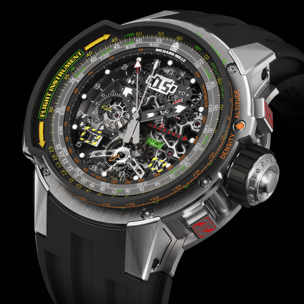 RICHARD MILLE RM 039 Aviation E6-B Flyback Replica Watch