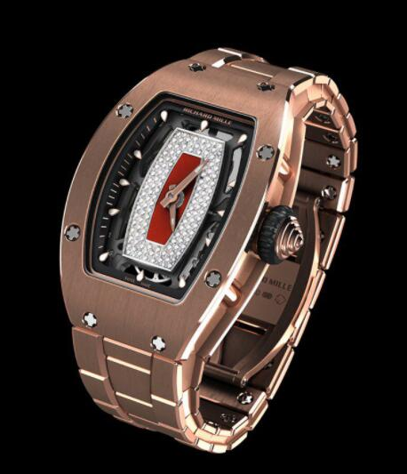 RICHARD MILLE RM 07-01 Automatic Winding Red Gold Replica Watch