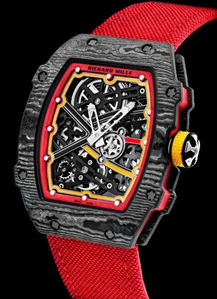 Richard Mille RM 67-02 Automatic Winding Extra Flat Alexander Zverev Edition Replica Watch