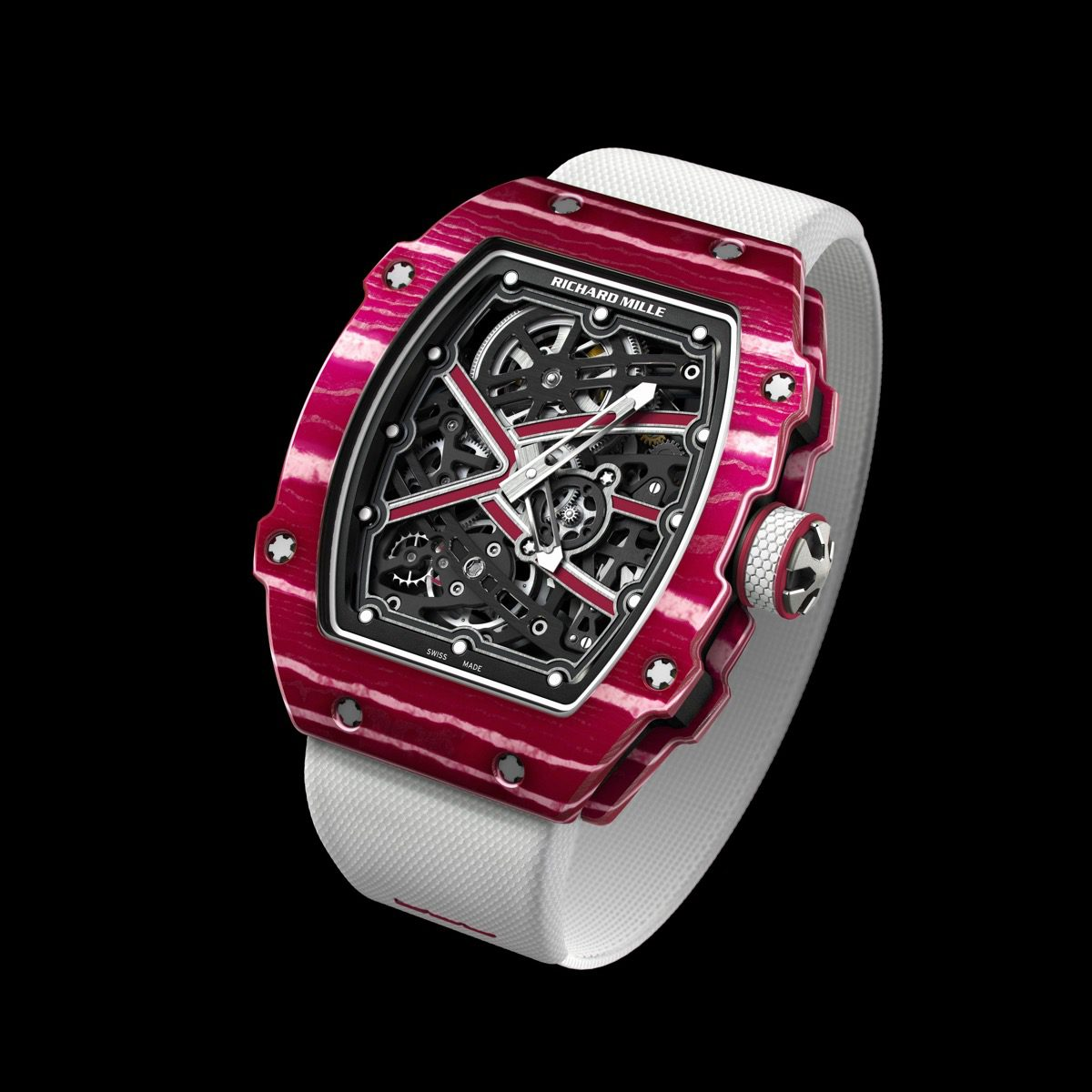 Richard Mille RM 67-02 Automatic Winding Extra Flat – Mutaz Barshim Edition Replica Watch
