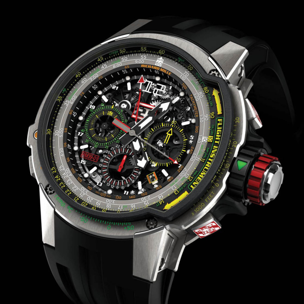 RICHARD MILLE RM 039 RM 39-01 Ti Aviation 542.45.91-1 Replica Watch