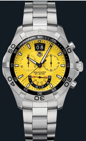 Replica Tag Heuer Watch Aquaracer Chronograph Grand-Date For Men 43mm CAF101D.BA0821
